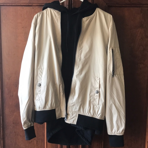 60937f2a5f1 premium outfitters Jackets & Coats | Outfitters Premium Bomber ...